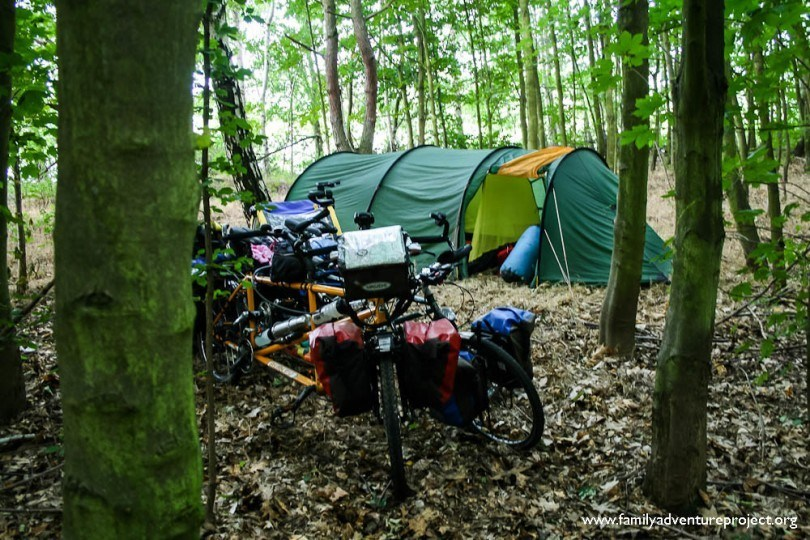 bike camping|Family Adventure Project