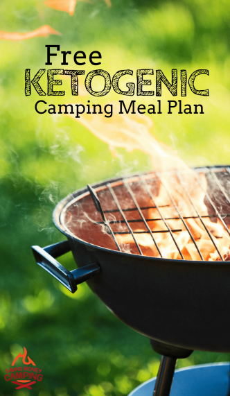 Camping while keto? Download the free 4-Day Keto Camping Meal Plan, Shopping List, and Prep Checklist. Always easy, always free!
