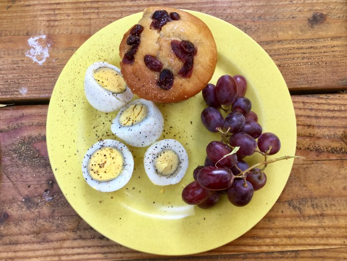 Easy camping breakfasts, meals, Cheers Nature