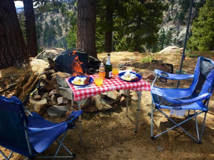 Easy breakfasts for your next camp adventure. Camping meals, Mimosas